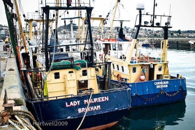 Fishing focus the beam trawler cornwall uk fish for Commercial fishing nets for sale